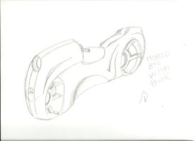 Mercedes Benz motorcycle w19 concep by And011art