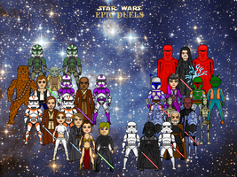 Danny's Star Wars Epic Duels by Winter-Phantom