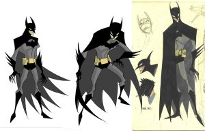 creepy batman by RM73
