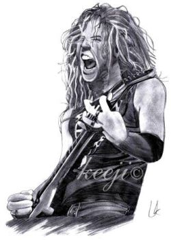 James Hetfield by Keeji-d