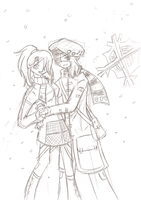 WIP- Winter Warmth and a rant by Kima-chi