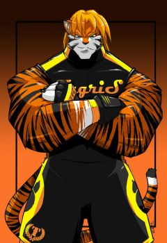 -TYGRIS- Striped Champion by ShoNuff44