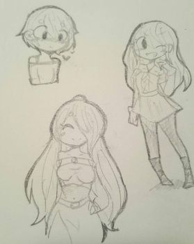 more doodles by AkariSan232