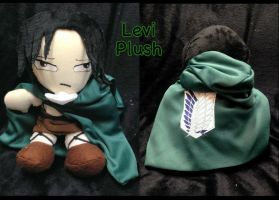 Levi Plush by CeltysShadow