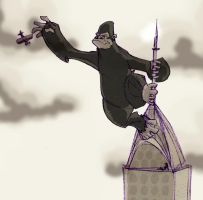 king kong by Debarsy
