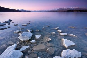 Tekapo Stepping Stones by chrisgin