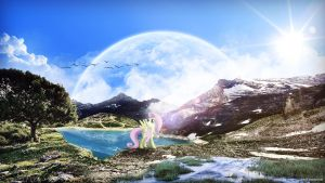 Through Fluttershy's eyes by romus91
