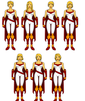 Power Girl Redesigns: Haircuts by SplendorEnt