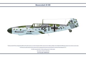 Bf 109 G-4 JG3 1 by WS-Clave