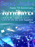 ~SUPER JUNIOR 7TH ANNIVERSARY~ by foxgirl4300
