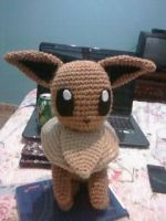 Eevee Crochet Plushie by EndlessBlueSky