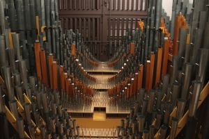 Inside of a Pipe Organ by jswis