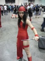Megacon 2014: Elektra Cosplay by Oblivion-Evil