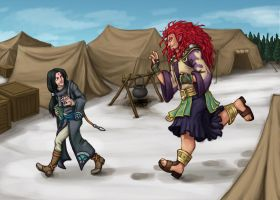 FE SS: Wait Up, Tiny Beorc by Tuinen