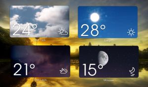 Magical Weather HD for xwidget by jimking