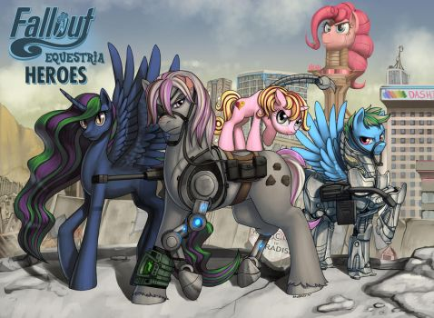 Fallout Equestria: Heroes by Pinkuh by Equestria-Narrator