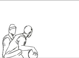 basketball Animation by mchaoo