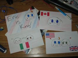Hetalia Fan Cards submissions by InuKid