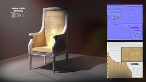 lowpoliest_chair by emaciate