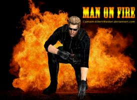 Man on Fire by Captain-AlbertWesker