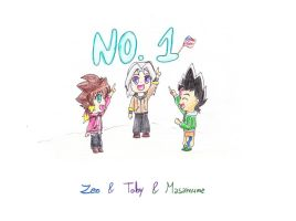 Zeo and Toby and Masamune: NO.1 by IperGiratina98