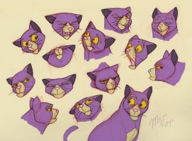 Film: Cat Concept Art by sketchinthoughts