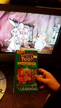 My VHS Collection 29: Pooh Sharing And Caring by Scamp4553