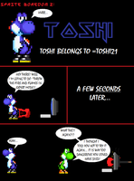 Sprite boredom 2: Toshi by Sc0t1n4t0r