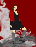 Avengers 2 Scarlet Witch by TheReaper111