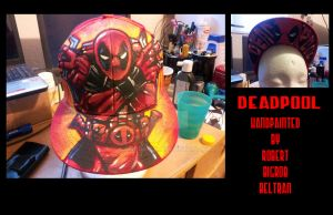 Deadpool custom hat by BigRob1031