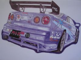 Nissan Skyline Sumo Power by DIMITRIS