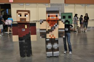 Minecraft Yogscast Cosplay 10 by Auzrill