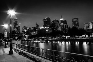 Melbourne B/W 3 by UseR2006