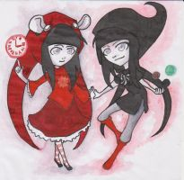 My homestuck characters by Bloodysfish