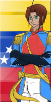 APH-Bolivar Romero digital flag by Nintendraw