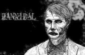 Dr. Hannibal Lecter by SilverLeon88