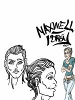 Character Study: Maxwell by Dreaphilia
