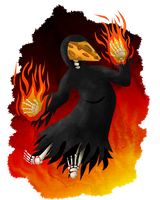Incendiary Cheese Wraith by Keetah-Spacecat