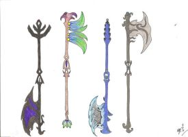 Elementle axes by MadMother88