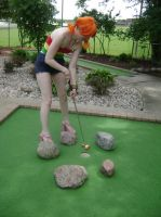 Nami Goes Mini Golfing by kojika