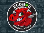 Ecohog Logo Design by LanotDesign