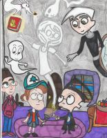 Ghost Hunting by Camila-Andromeda