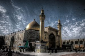 imam ali holy shrine by karentolo