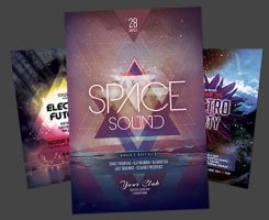 Electro Flyer Bundle Vol.04 by styleWish