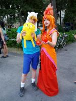 Flame Princess And Finn by ShiroiKobato