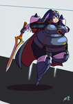 Super Smashing - Jet Pack Lucina by Axel-Rosered