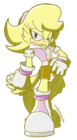 CM: Chica the bird Sonic Riders style by shadowhatesomochao