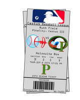 DS9 Baseball Ticket by AWESwanky