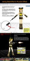 MMD Tutorial BeamMan's Muzzle Flash by Trackdancer