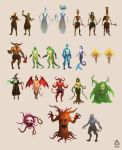 Monster and creature pack #1 by Banzz